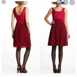 Anthropologies lace dress size 6